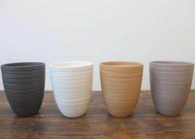 Lokken Keramiek Potten Nancy Handmade Stone kleuren