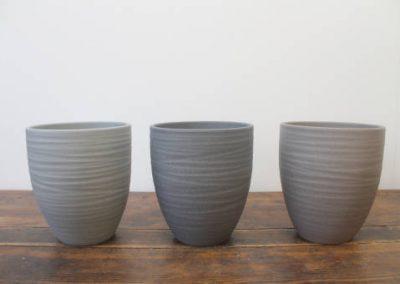 Lokken Keramiek Potten Turin Handmade Stone kleuren